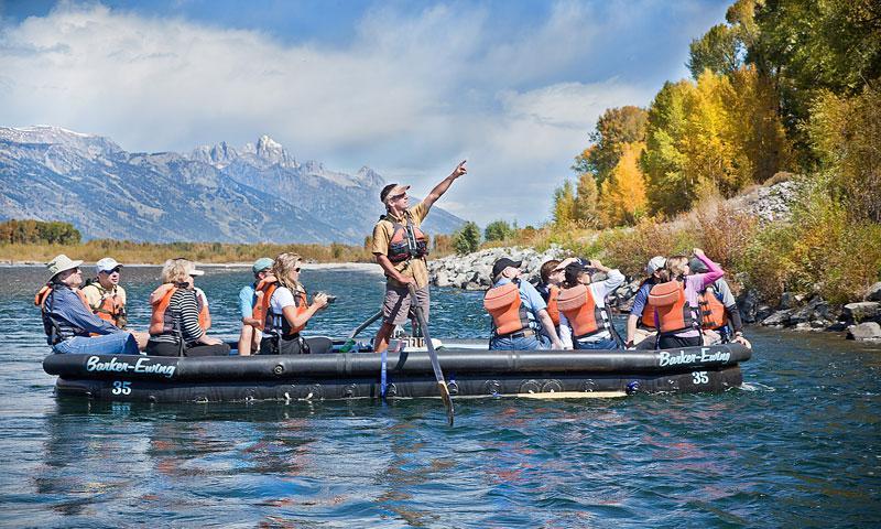 Jackson Hole Wyoming Scenic Float Trips Smooth Water