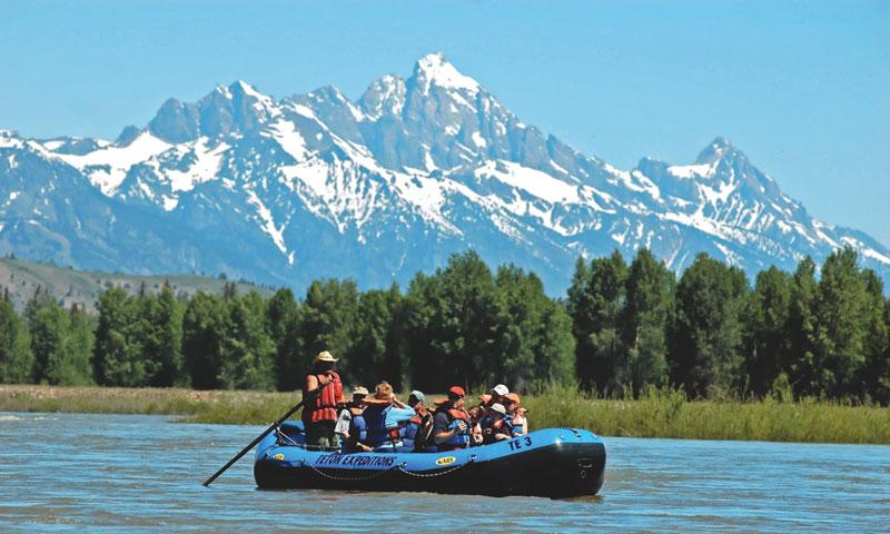 Scenic Float Trip on the Snake River