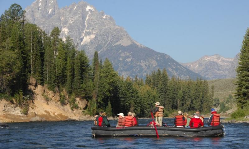 Jackson Hole Float Trips Scenic Rafting