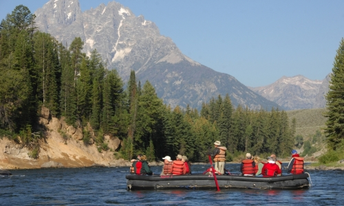 Jackson Hole Float Trips Scenic Rafting