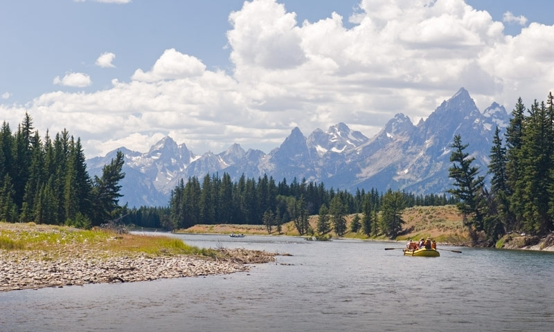 Snake River Grand Teton National Park Scenic Rafting Float