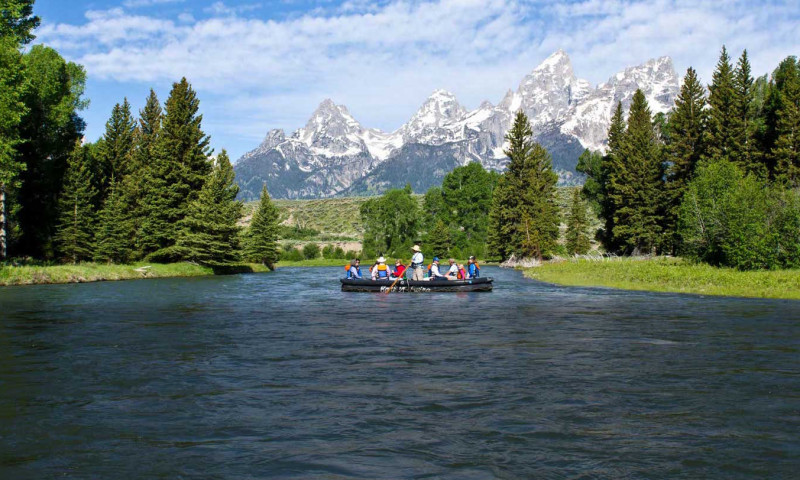 Grand Teton Float Trip