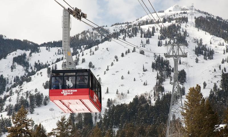 Jackson Hole Skiing Resort