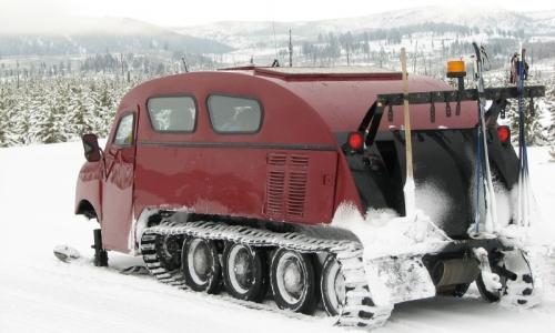 Jackson Hole Wyoming Snowcoach Tour