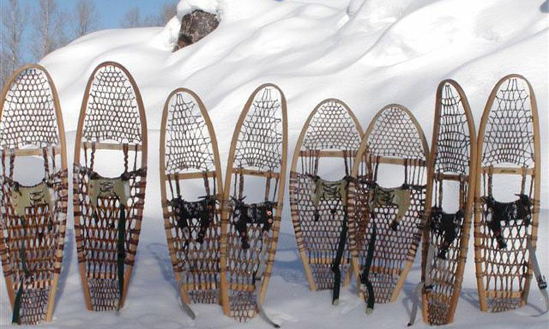 Snowshoe Tour near Jackson Wyoming