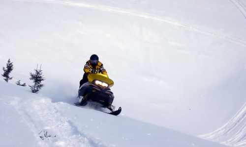 Jackson Hole Wyoming Snowmobiling