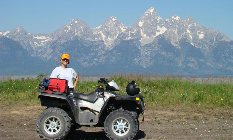 Off Roading near Jackson Wyoming