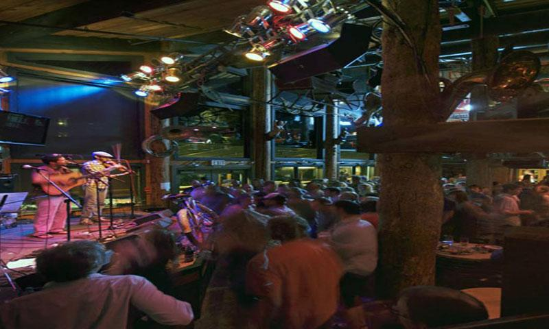Concert at the Mangy Moose Saloon