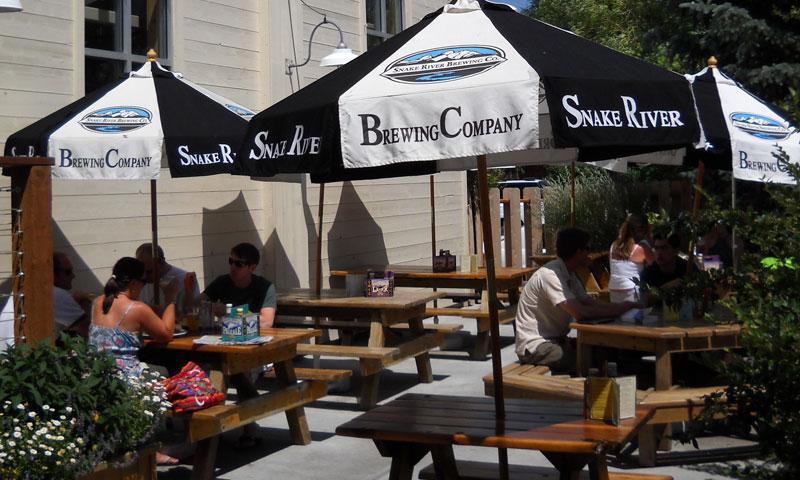 Snake River Brewing Company Brewery Brewpub Beer Jackson Hole Wyoming