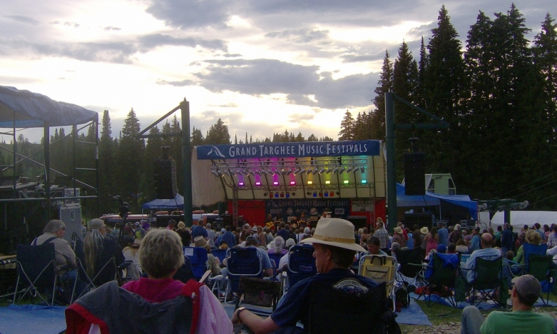 Targhee Bluegrass Festival