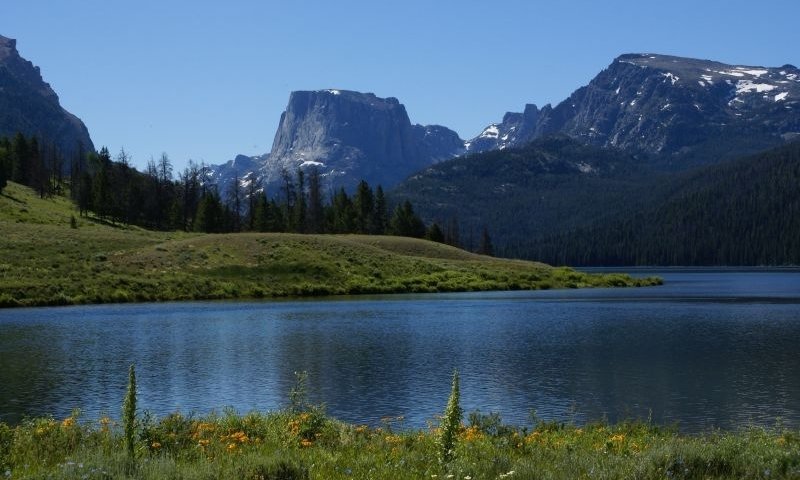 Bridger wilderness area in wyoming alltrips for Green mountain reservoir fishing