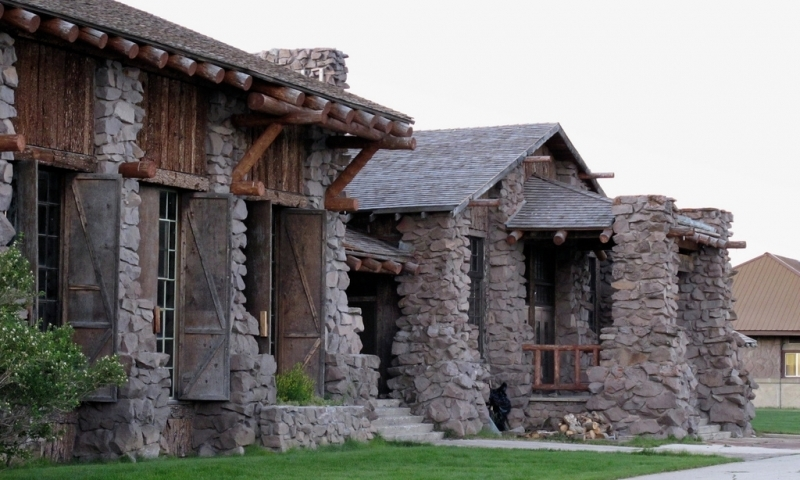 Historic Center in West Yellowstone Montana