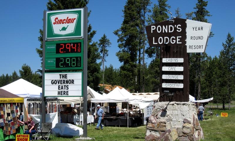 Antique Fair at Historic Ponds Lodge
