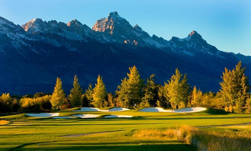 Jackson Hole Wyoming Golf Courses Alltrips