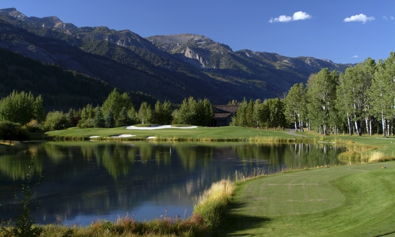 Teton Pines Golf Course Amp Club Jackson Hole Wyoming