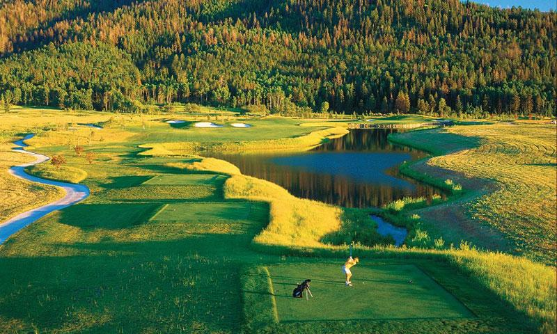 Headwaters Club at Teton Springs in Victor Idaho