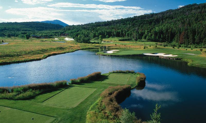 Teton Springs Golf Course Headwaters Club Driggs Idaho