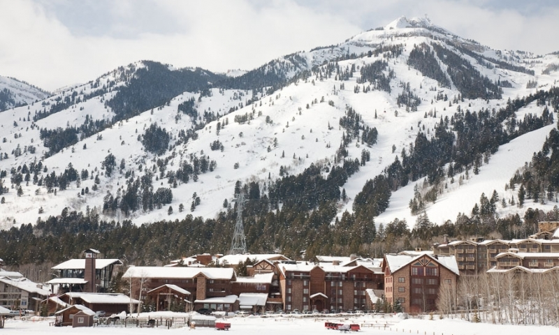 Jackson Hole Ski Resort In Wyoming Alltrips