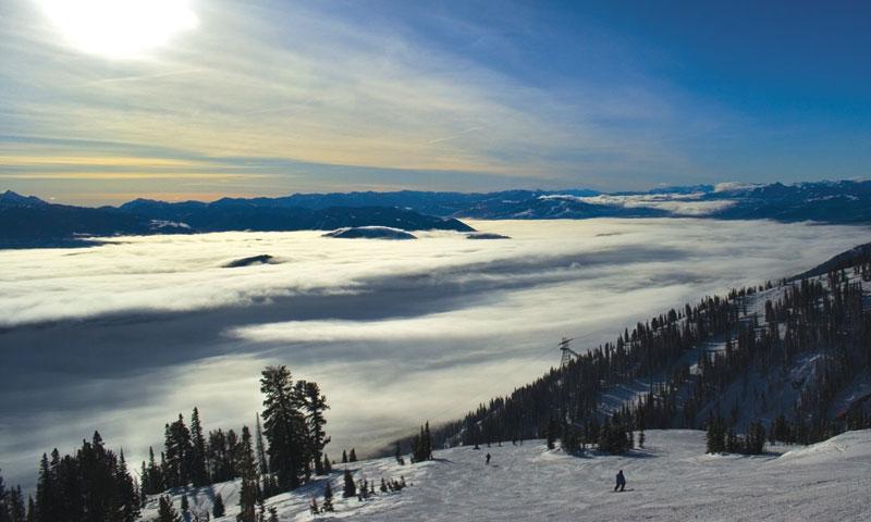 Inversion at Jackson Hole Mountain Resort