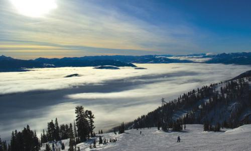 Inversion at Jackson Hole Mountain Resort