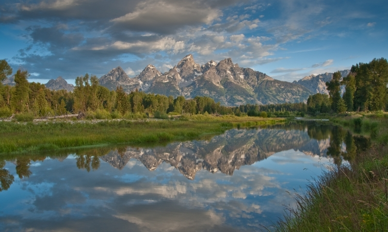 Snake River Wyoming Grand Teton Park