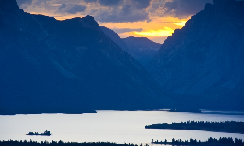 Teton Crest Trail Wyoming Lakes