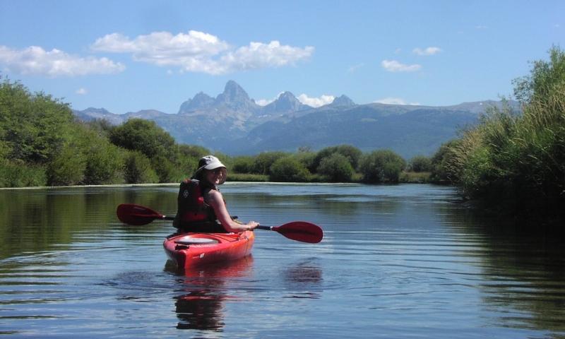 Teton River Kayaking