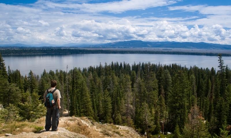 Jenny Lake Grand Teton National Park Inspiration Point