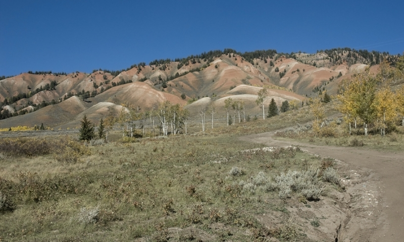Red Cliffs near Gros Ventre River