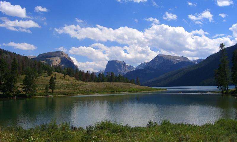 Green River Lakes Wyoming