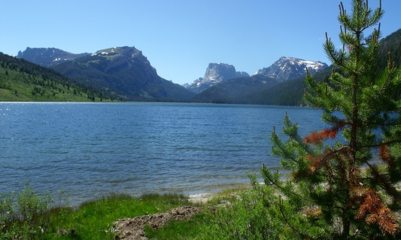 Green River Lakes Wyoming Fishing Camping Boating Alltrips