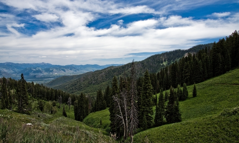 Snake River Range at Teton Pass
