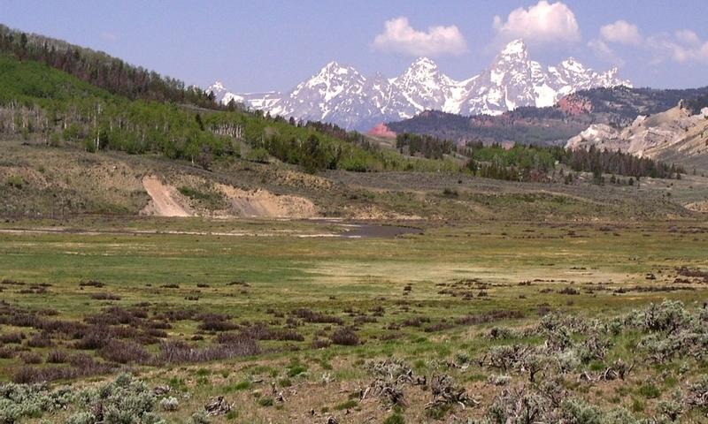 Gros Ventre Mountains Jackson Wyoming