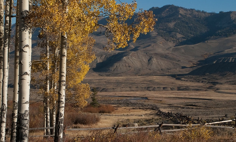 Gros Ventre Mountains River Jackson Wyoming