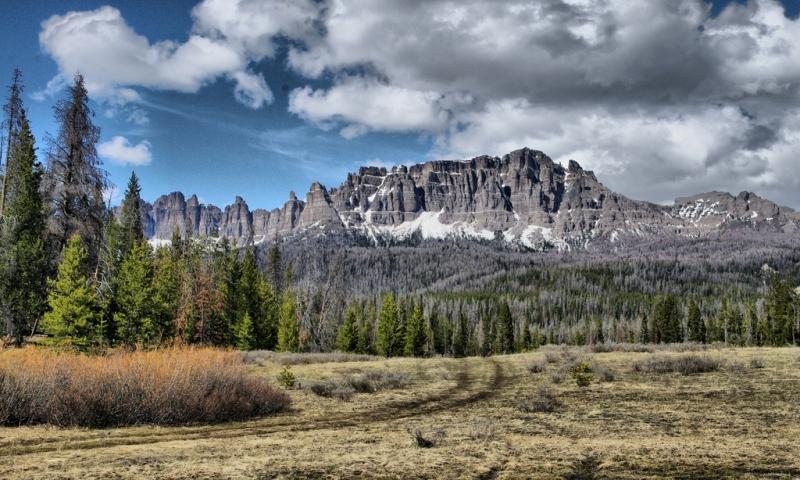 Gannett Peak Wyoming Highest Mountain In Wy Alltrips