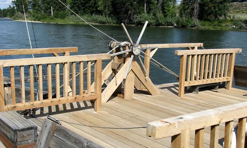 Menors Ferry Replica in Grand Teton Park