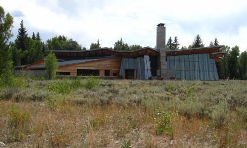 Craig Thomas Visitor Center in Grand Teton Park