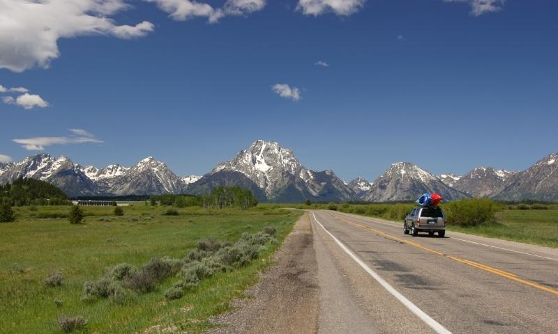 Jackson Hole Wyoming Drives