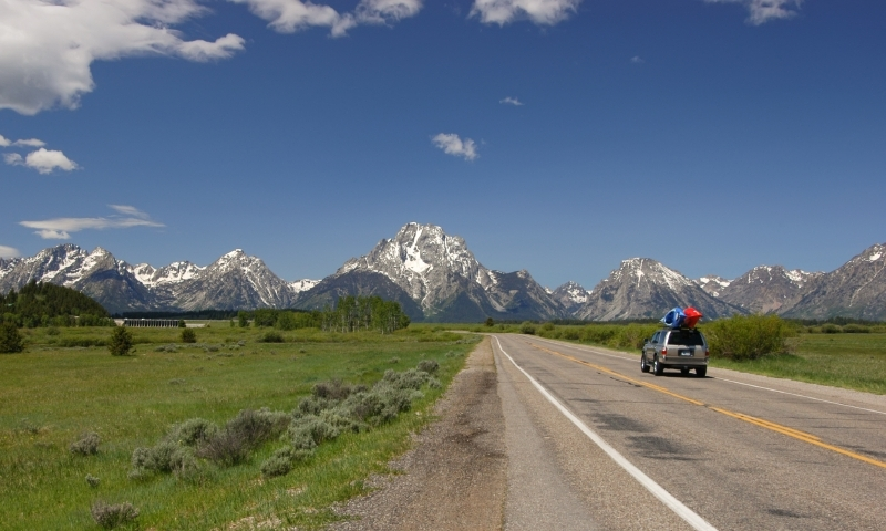 Jackson Hole Wyoming Scenic Routes Driving Auto Tours