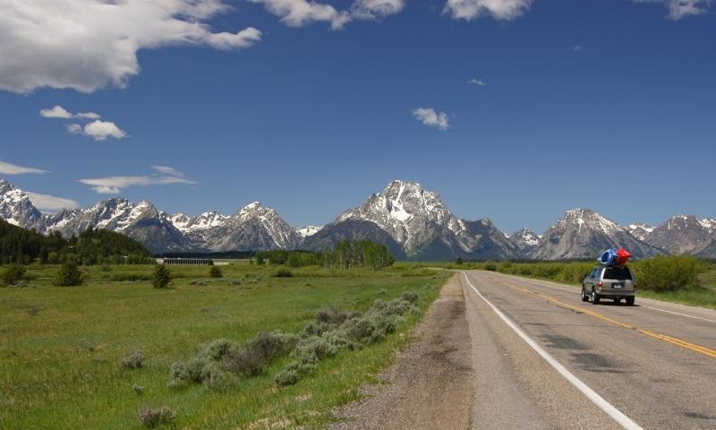 Scenic Drive Grand Teton National Park