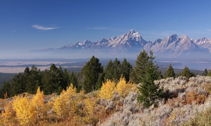 Signal Mountain Road Wyoming Grand Tetons Alltrips