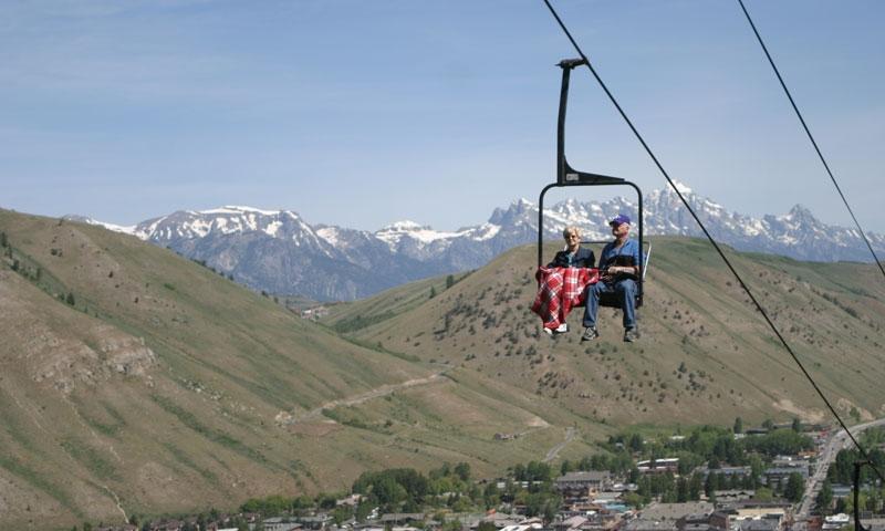 Snow King Ski Resort Jackson Hole Chairlift
