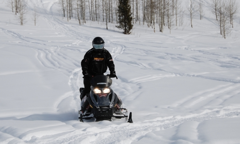 Star Valley Wyoming Greys River Snowmobiling