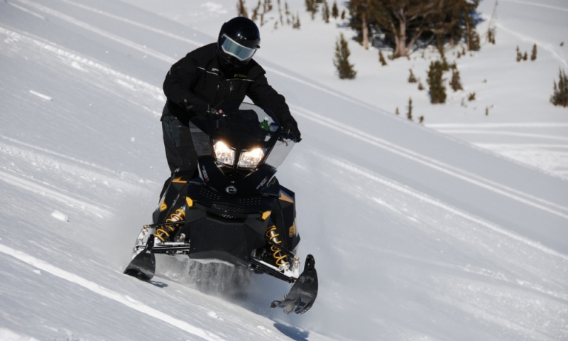 Star Valley Wyoming Smith Forks Canyon Snowmobiling Winter