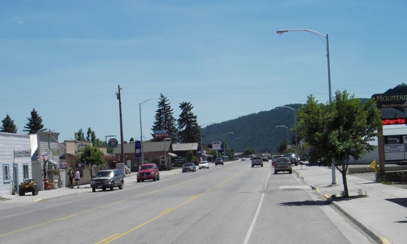 Star Valley Wyoming Thayne Downtown