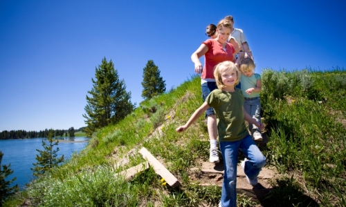 Jackson Hole Kids Activities Hiking