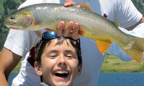 Jackson Hole Kids Activities Fishing