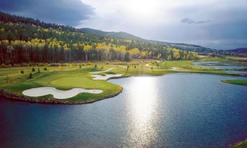 Headwaters Club Teton Springs Victor Idaho Golfing Jackson Wyoming