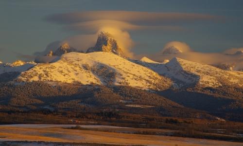 Grand Teton Sunset Idaho
