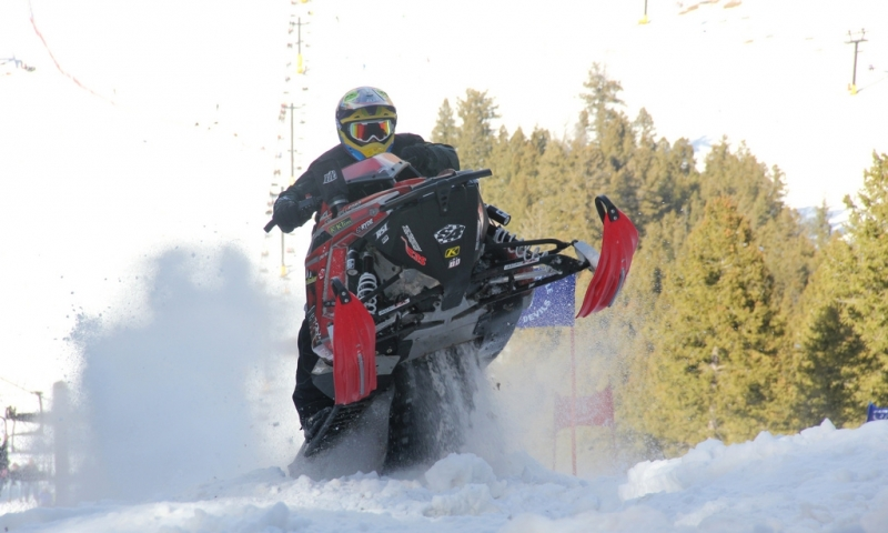 Jackson Hole Snowmobile Hill Climb
